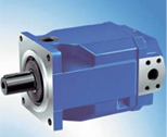 Động cơ piston hướng trục, lưu lượng điều khiển được, đĩa nghiêng