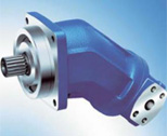Axial piston motor, fixed displacement, bent axis design