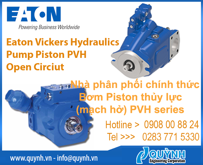 EATON Vickers Hydraulics Piston Pump PVH (Open Circuit)