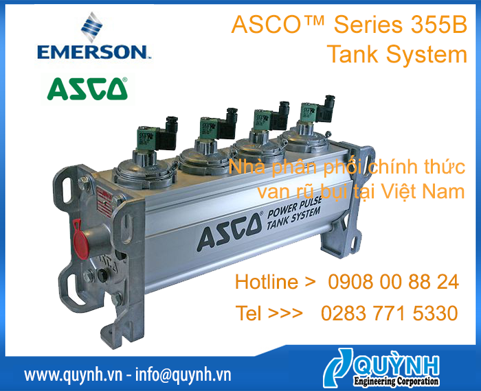 ASCO 355B Tank System for Dust Collector