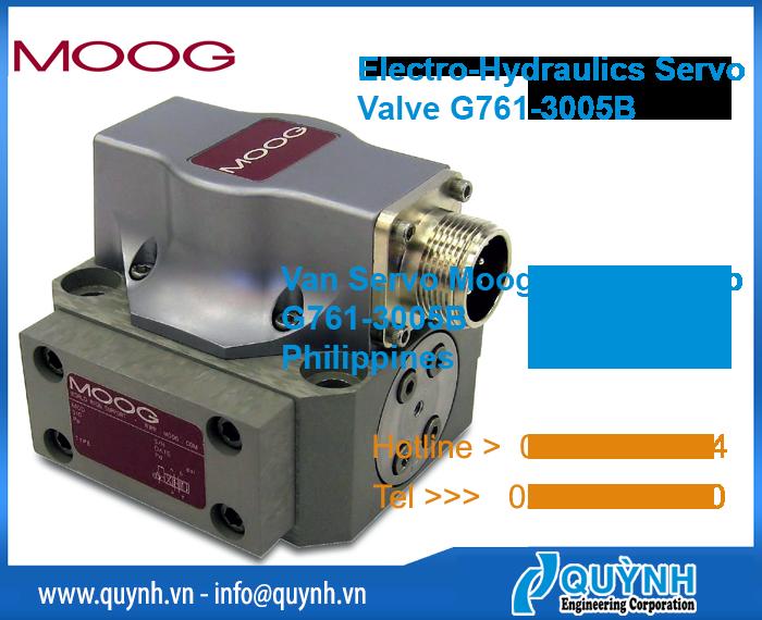 Moog Servo hydraulics valve G761-3005B