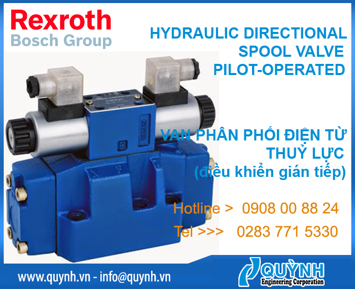 Bosch Rexroth Hydraulics Directional Spool Valve