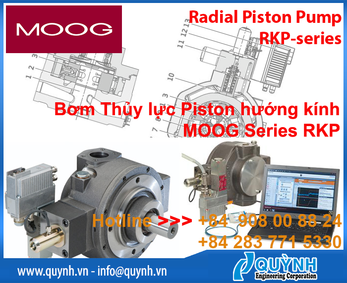 MOOG Radial Piston Pump Series RKP